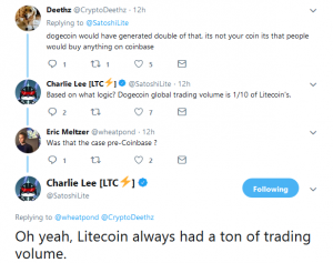 Charlie Lee Deleted Post On Coinbase5
