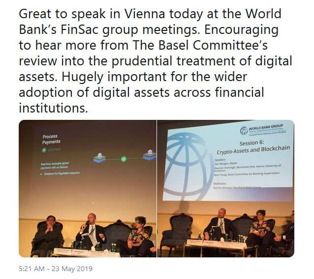 Ripple XRP Basel Committee
