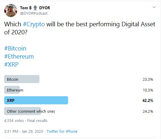 Online Cryptocurrency Poll