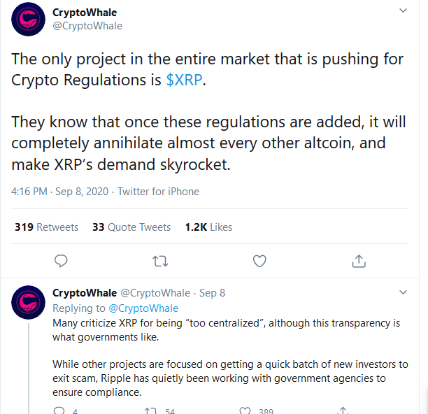 cryptowhale XRP
